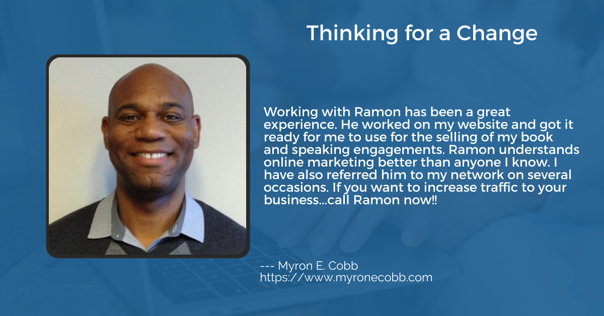 48 Days Marketing Review from Myron E. Cobb