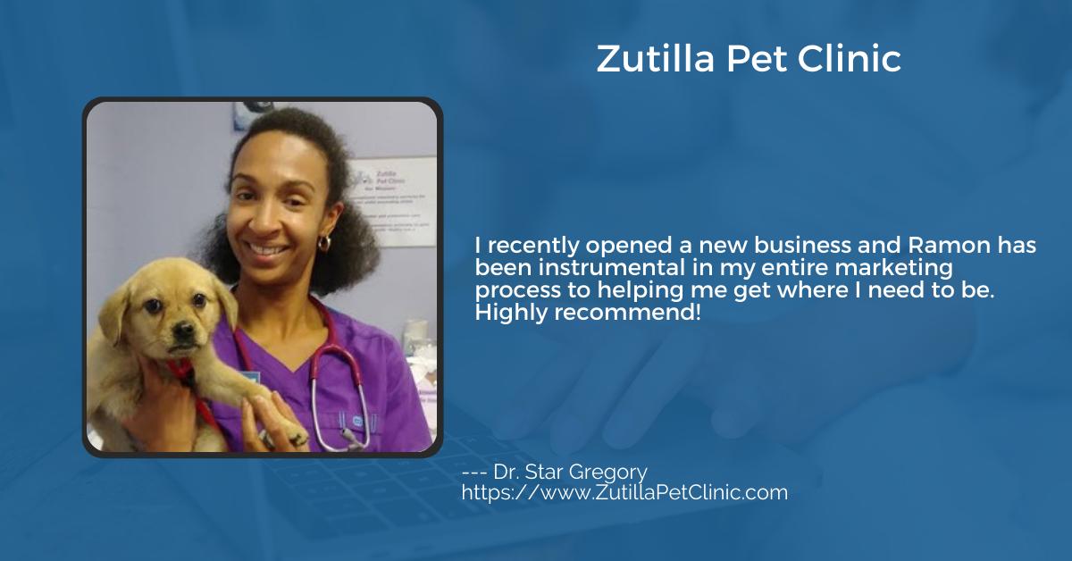 48 Days Marketing Testimonial from Zutilla Pet Clinic